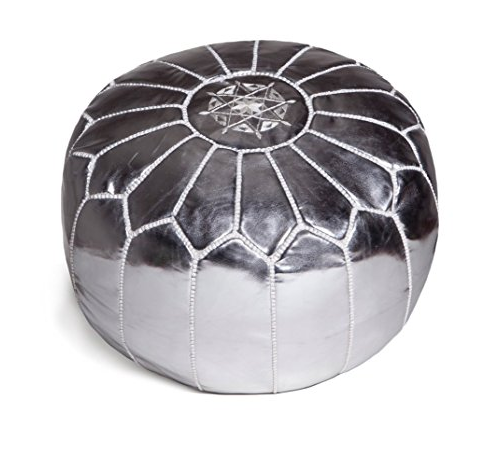 poofs to sit on Moroccan Leather Pouffe Moroccan Poufs