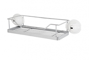 nailless wall shelves Feca No Drilling Mountable Stainless Steel Shelf