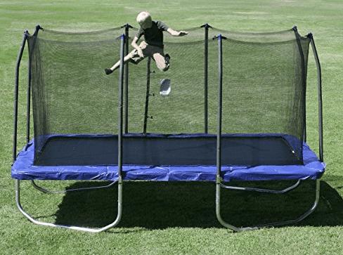 trampolines with enclosures skywalker trampoline rectangle