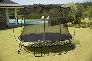 trampolines with enclosures springfree trampoline 8 x 11 ft with enclosure