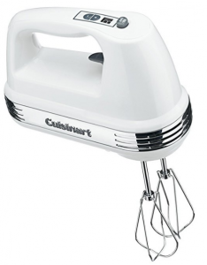 Cuisinart 9 speed hand mixer with storage case 3