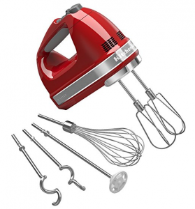 Cuisinart 9 speed hand mixer with storage case KitchenAid 9 speed hand mixer