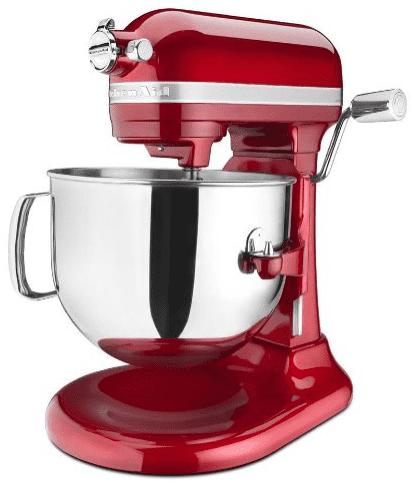 KitchenAid pro line stand mixer 7 qt red