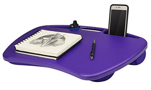 bean bag lap desk Purple Lap Desk