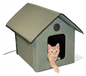 k&h thermo kitty heated cat bed K&H Outdoor Kitty House