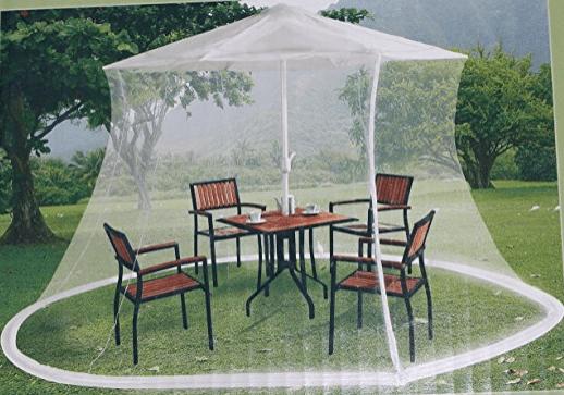 mosquito netting for patio umbrella Mosquito Netting for Patio Umbrella 9ft