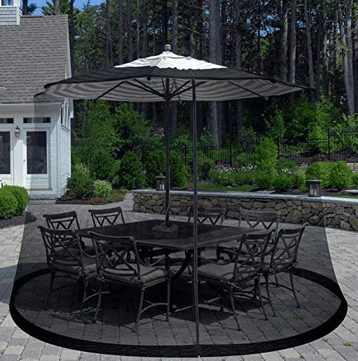 mosquito netting for patio umbrella Outdoor Umbrella Screen