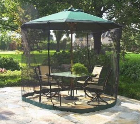 mosquito netting for patio umbrella Porch Mosquito Net