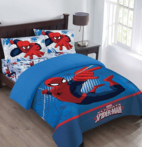 Spiderman kids bed