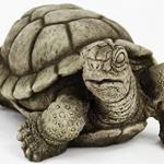 concrete turtle statue