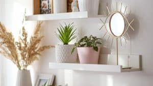 best floating wall shelf without nails or screws
