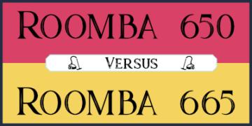 roomba 650 vs 665